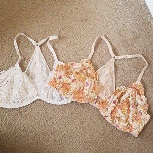 Victoria's Secret t- back bras